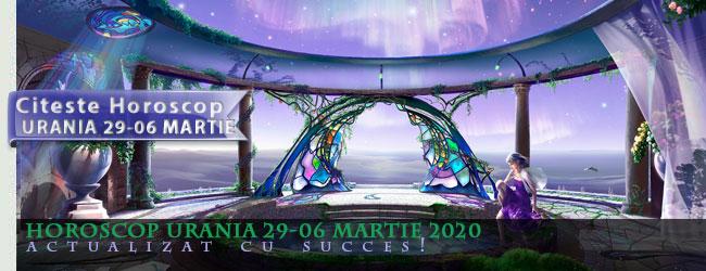 Horoscop Urania 29-06 Martie 2020
