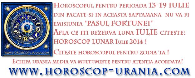 Horoscop URANIA Lunar Iulie 2014